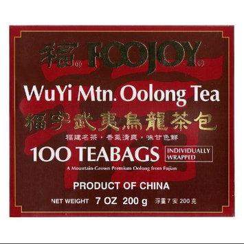 Foojoy Wuyi Mt. Oolong (Wu Long) Weight Loss Tea 100 Tea Bags