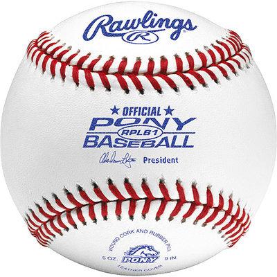 Rawlings Pony League Baseball (Competition Grade) RPLB1