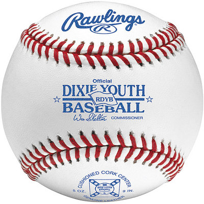 Rawlings Dixie Youth League Baseball (Tournament Grade) RDYB