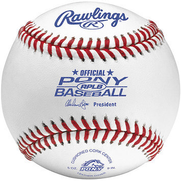Rawlings Pony League Baseball (Tournament Grade) RPLB