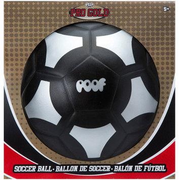 Poof Pro Gold Black Soccer Ball