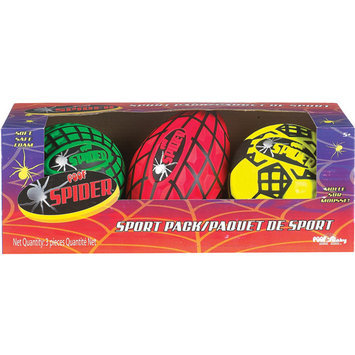 POOF-Slinky Spider Foam Mini Sport Set, 3-Pack