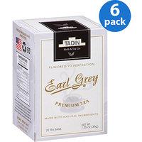 Tadin Tea Tadin Earl Grey Tea Bags, 20 count, 1.05 oz, (Pack of 6)
