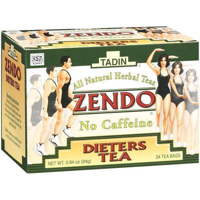 Tadin Tea Zendo Dieters Herbal Tea Bags, 24ct