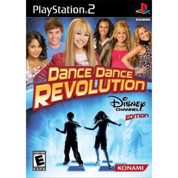 Konami Digital Entertainment Dance Dance Revolution - Disney Channel Edition for PS2