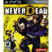 Konami Digital Entertainment Konami NeverDead - Action/Adventure Game Retail - Blu-ray Disc - PlayStation 3