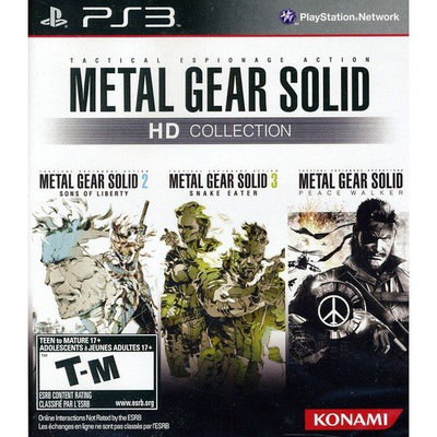 Konami Digital Entertainment Konami Metal Gear Solid HD Collection - KONAMI