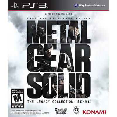 Konami Digital Entertainment Metal Gear Solid: The Legacy Collection (Without Artbook) PS3