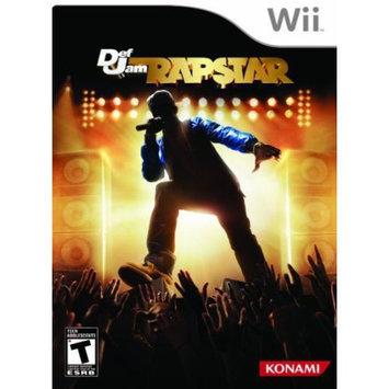 Konami Digital Entertainment Def Jam Rapstar Wii Game KONAMI