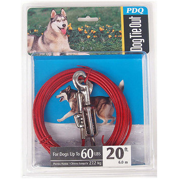Boss Pet Products Q3520 SPG 99 Q3520spg99 20ft. Pdq Tieout W/Spr