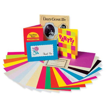 Pacon Corporation PAC101167 Array Card Stock Vibrant 100 Sheets Assortment 5 Colors