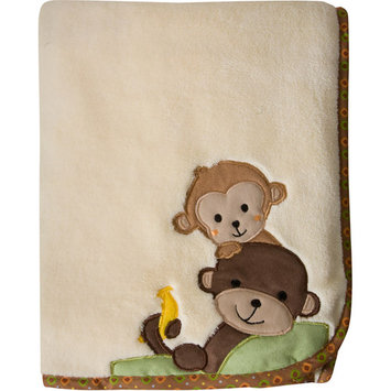 Bedtime Originals by Lambs & Ivy - Blanket, Curly Tails