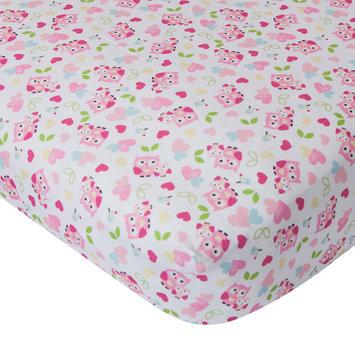 Bedtime Originals Bubblegum Jungle Crib Fitted Sheet