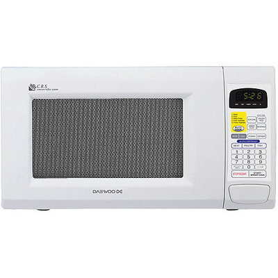 Daewoo 1.3 cu ft Microwave Oven, White