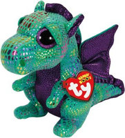 Ty Cinder Medium Beanie Boo Dragon