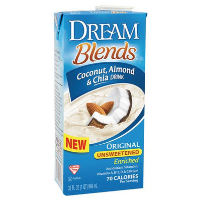 Dream Blends - Coconut Almond & Chia Drink Original Unsweetened - 32 oz.