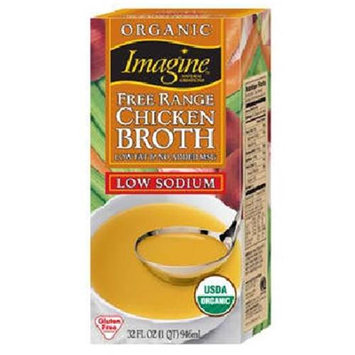 Imagine Foods Broth No-Chicken Organic Gluten Free - 32 fl oz