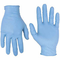Custom Leathercraft 2323L Large Nitrile Disposable Gloves 50 Count