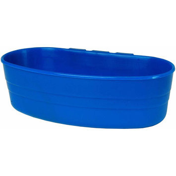 Miller Manufacturing ACU2BLUE 1 Pint Blue Plastic Cage Cup