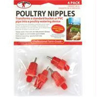 Miller Mfg Co Inc P-Poultry Watering Nipple 4 Pack