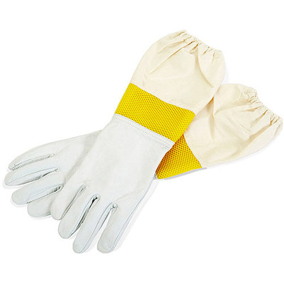 Apparel & Accessories: Little GIANT Safety Gloves Large Goatskin Gloves