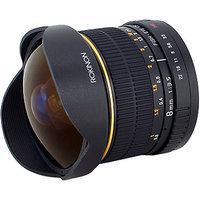 Rokinon 8mm F3.5 Fisheye Lens for Canon Cameras