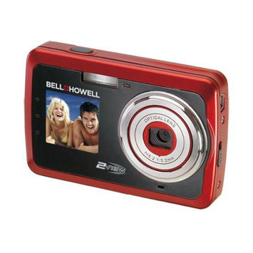 Bell Howell Bell + Howell 12MP Red 2-view Digital Camera