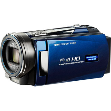 Elite Brands Inc. BELL+HOWELL Rogue Night Vision 1080p Camcorder (Blue)