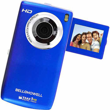 Elite Brands Inc. Take1hd Digital Video Camcorder With Flip-Out Lcd Screen (Blue)