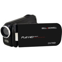 Bell & Howell DV7HD-BK Bell+howell Dv7hd-bk 16.0 Megapixel Slice Ii Dv7hd Ultraslim 1080p Hd Camcorder [black]