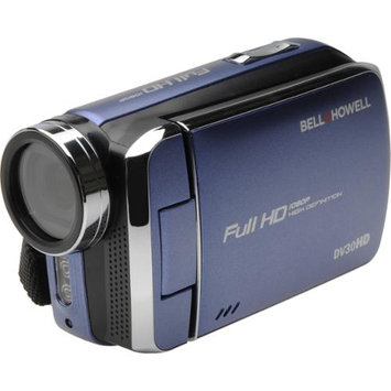 Bell & Howell DV30HD 1080p HD Video Camera Camcorder (Blue)