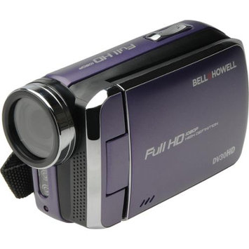 Bell & Howell DV30HD 1080p HD Video Camera Camcorder (Purple)