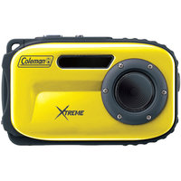 Coleman - 12.0 Megapixel Xtreme Underwater Digital Camera (Yellow)