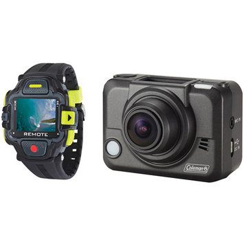 Elite Brands Inc. Coleman Bravo2 1080p High Definition Sports/ Action/ Helmet Camera with LCD Watch and Wi-fi