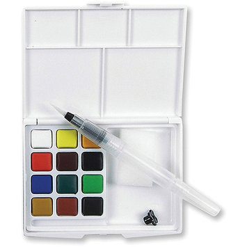 Alvin & Company Alvin XNCW-12H Koi Watercolor Sketch Box