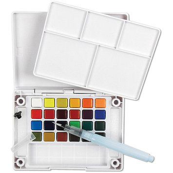 Alvin & Company Alvin XNCW-24N Koi Watercolor Pocket Set-24