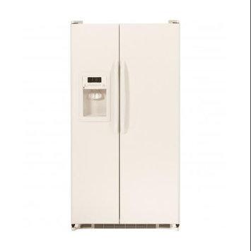 GE 25.25-cu ft Side-by-Side Refrigerator (Bisque) ENERGY STAR GSH25JGDCC