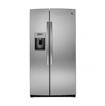 GE Profile Stainless Steel Side-By-Side Refrigerator