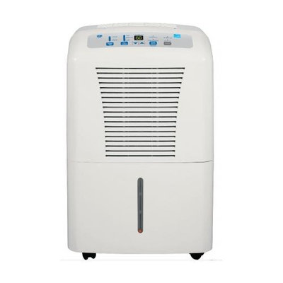 GE Light Cool Grey 50 Pint Dehumidifier