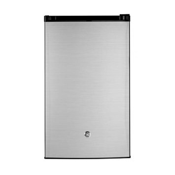 GE GME04GLHLB 4.4 Cu. Ft. Stainless Steel Compact Refrigerator