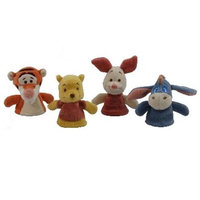 My Natural 42455 Winnie the Pooh & Friends Finger Puppet Set