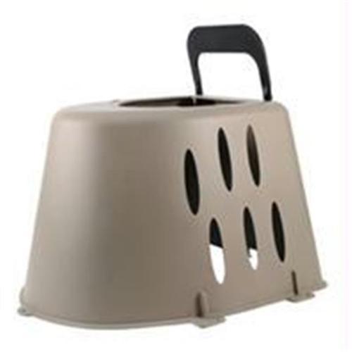 Farm Innovators-farm-Plastic Nesting Box For Hens- Tan 16 Inch