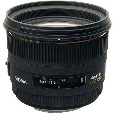 Sigma 310101 50mm f/1.4 EX DG HSM Zoom Lens