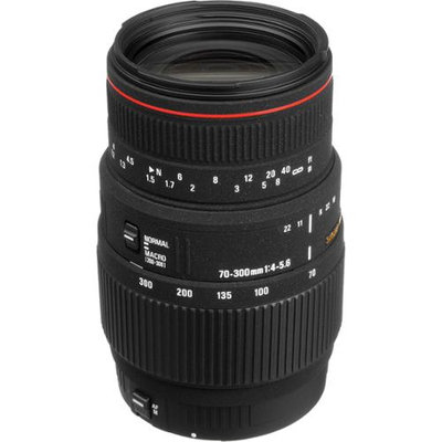 Sigma 70-300mm APO Macro Lens For Nikon Camera