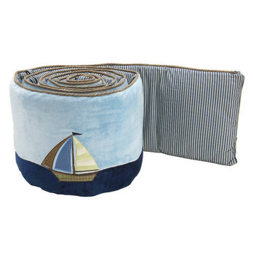 NoJo Ahoy Mate Traditional Padded Bumper - CROWN CRAFTS INFANT PRODUCTS, INC.