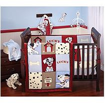 Crown Craft 101 6PC CRIB SET DALMATIAN 6PC SET
