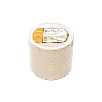 Baumgartens Conserve Sugar Cane Bowl, 12 oz, White, 100/Pack