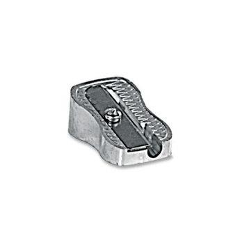 BAUMGARTENS Pencil Sharpener, Single Hole Coded, Silver
