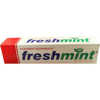 Freshmint NWI-TP64-48 Freshmint Toothpaste 6.4 Oz Individually Boxed Case Of 48