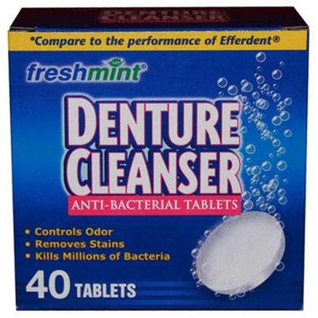 Freshmint NWI-DENT40-24 Denture Cleanser Tablets 24 Per Case